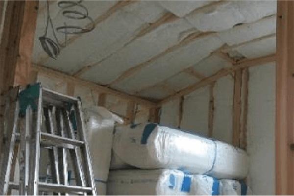 2階天井断熱