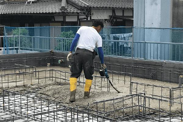 コンクリート打設