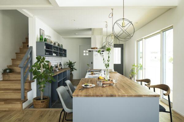 Kitchen cafe style house